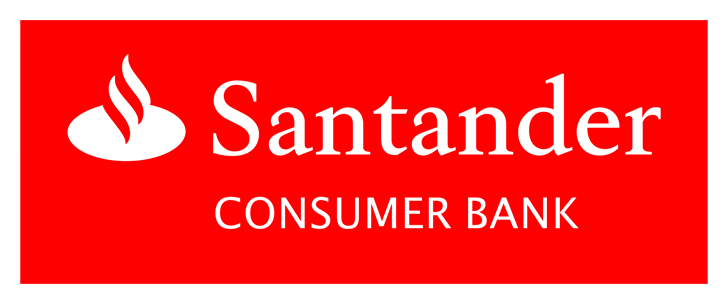 The logo of Santander Consumer Bank
